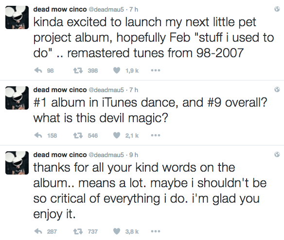 deadmau5 tweet album