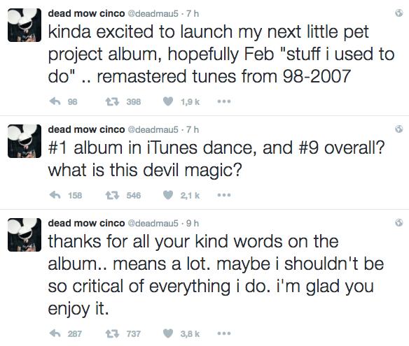 deadmau5 tweet album