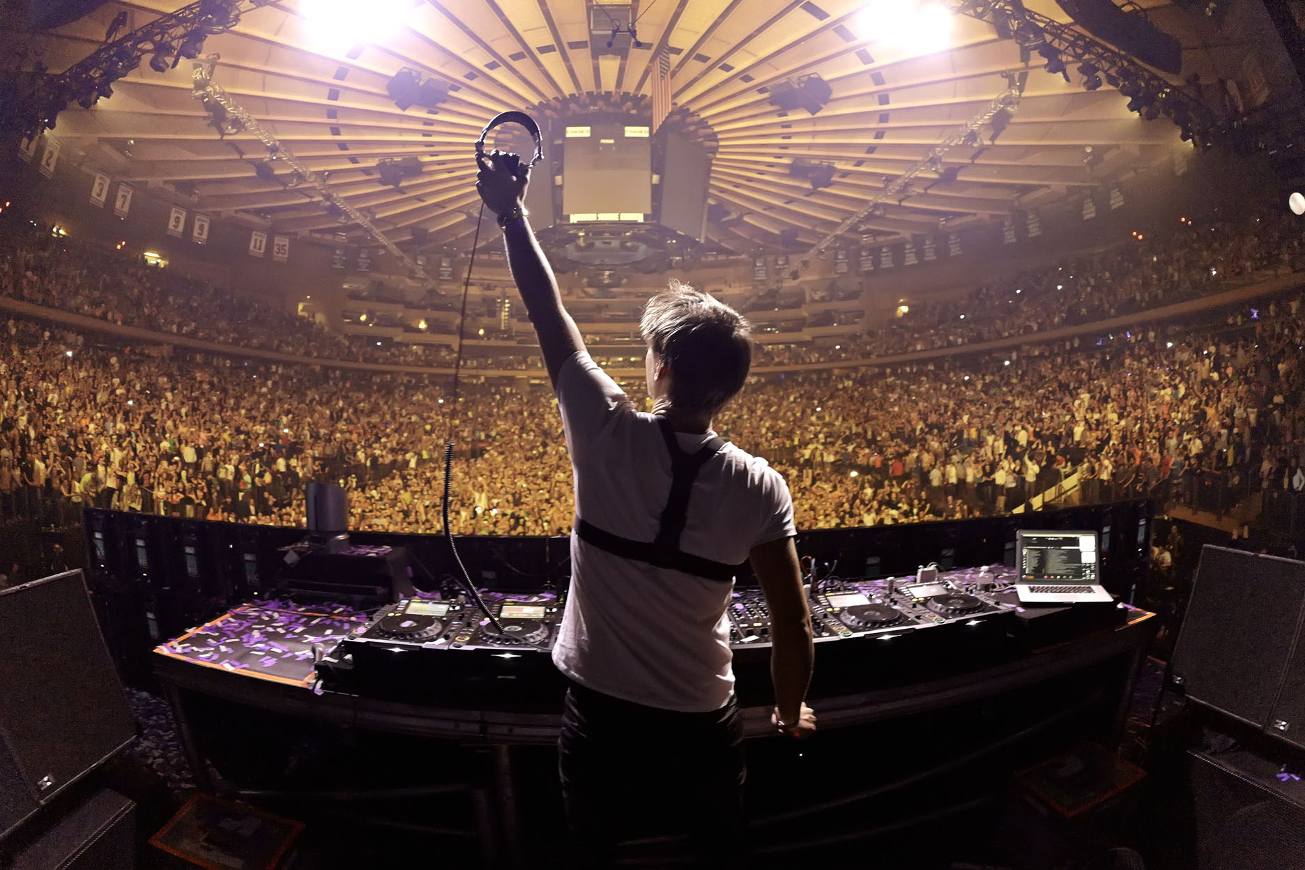 March 30, 2013: Armin van Buuren preforms at Madiosn Square Garden.