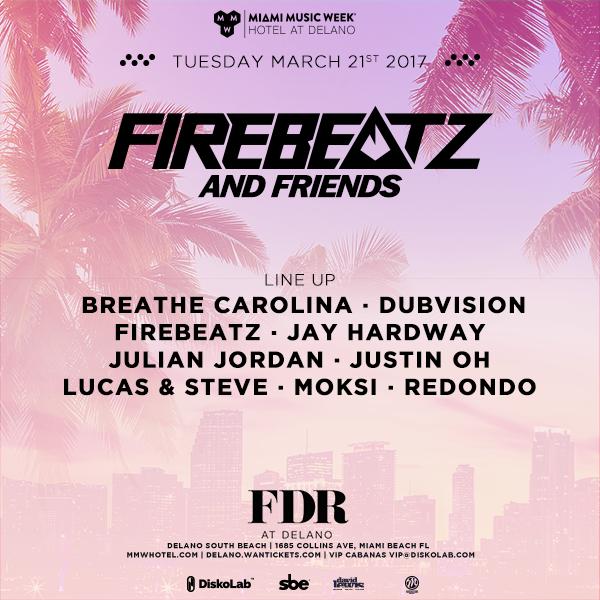 FirebeatzNfriendslineup