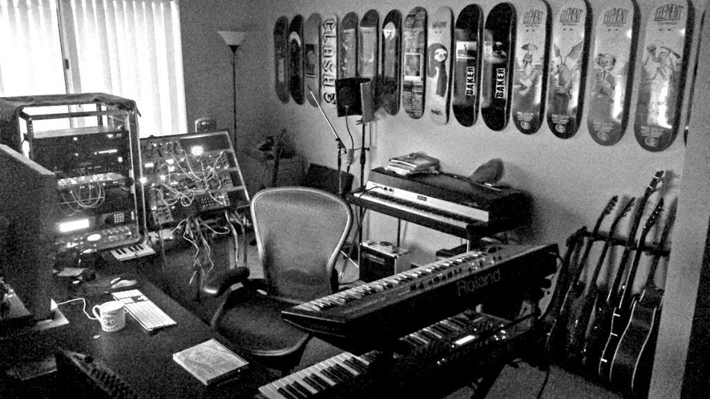 Matt Lange studio