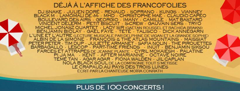 Francofolies_line_up