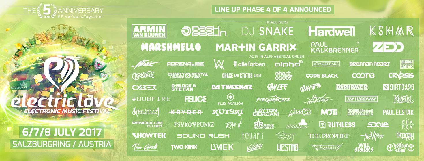 electriclove_lineup