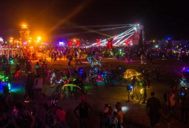 Burning Man, festival dans le désert du Nevada