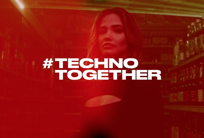Techno together