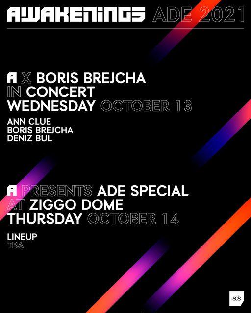 Awakenings ADE Boris Brejcha Ziggo Dome