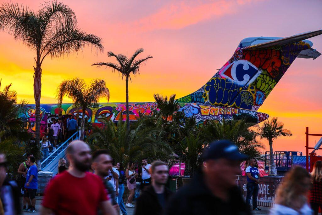 SAGA Festival Sunset